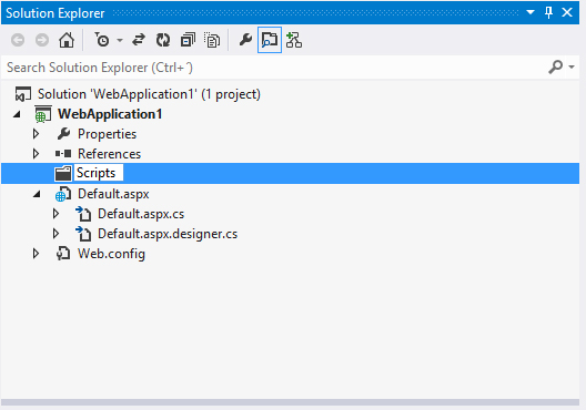 Visual Studio 2012, rename folder in Solution Explorer