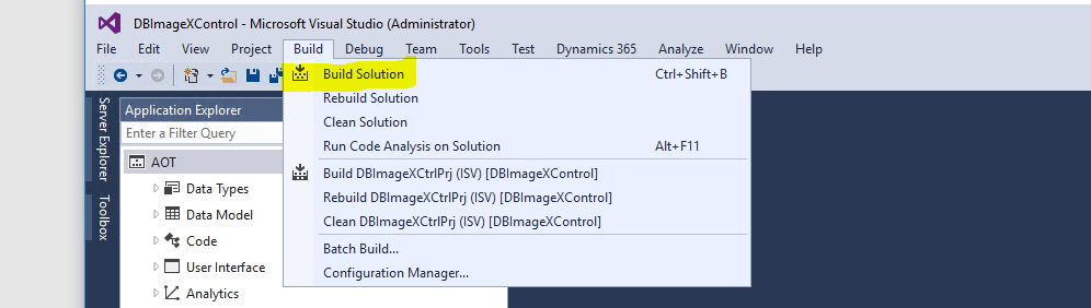 Dynamics 365 for Finance and Operations Extensible Controls: Server