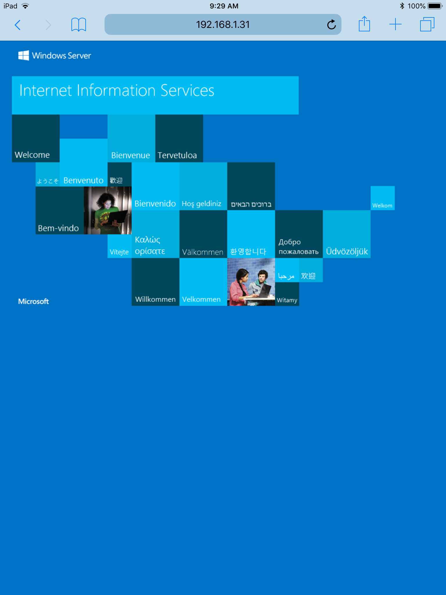 Internet Information Services