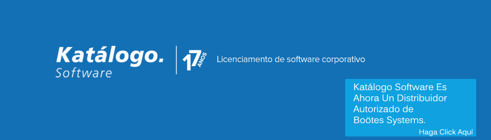 Katálogo Software es ahora distribuidor autorizado de Boötes Systems