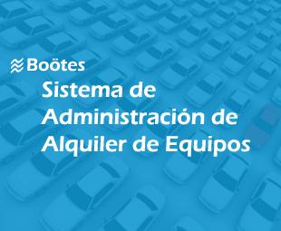 Sistema de Administración de Alquiler de Equipos Boötes