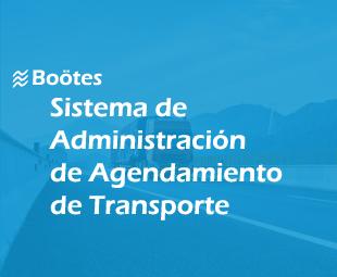 Sistema de Administración de Agendamiento de Transporte Boötes